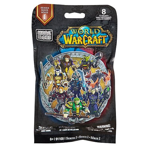 Mega Bloks World of Warcraft Series 1 Figures Blind Pack, 1PCs/Display Box