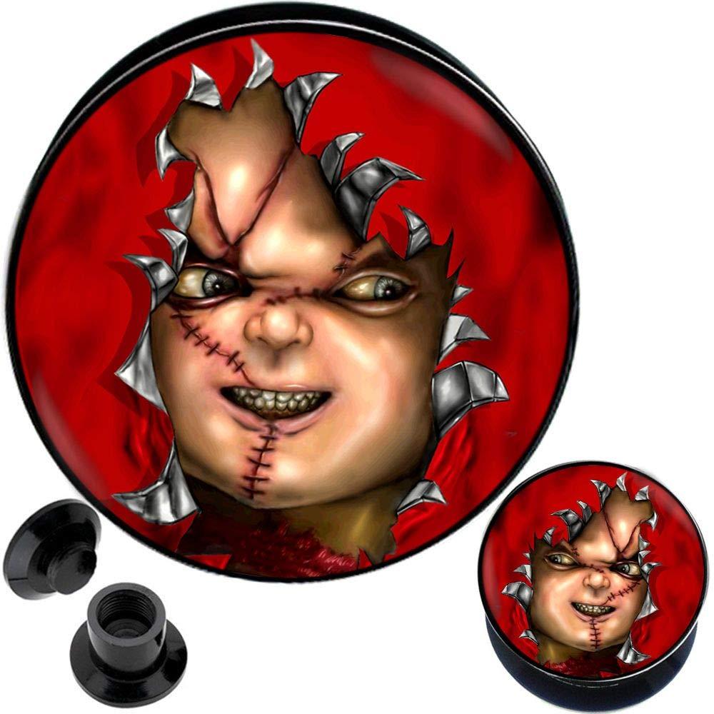 00 gauges 00g Plugs Ear gauges 00g Tunnels gauges 00 0 gauges Plugs for Ears Size = 3/4 inch Plugs 20mm