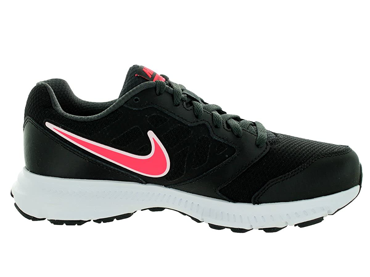 ba42ddd20ab41 Nike Womens Downshifter 6 (Wide) Black/Hyper Punch/Anthracite Running Shoe  5.5 Wide Women US