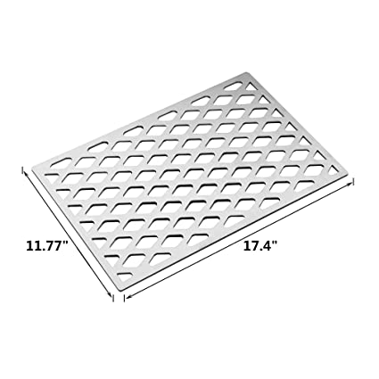 Amazon Com Stanbroil Cast Stainless Steel Diamond Pattern