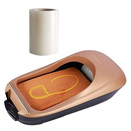 D DOLITY Dispensador Portátil de Cubierta de Zapatos con Membrana de Calzado para Hogar Oficina -