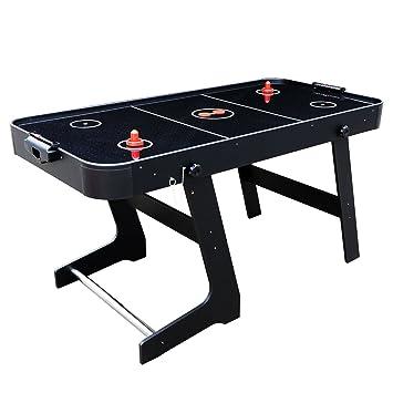 HLC 5 ft l-foot plegable mesa de Air Hockey deportes juegos de ...