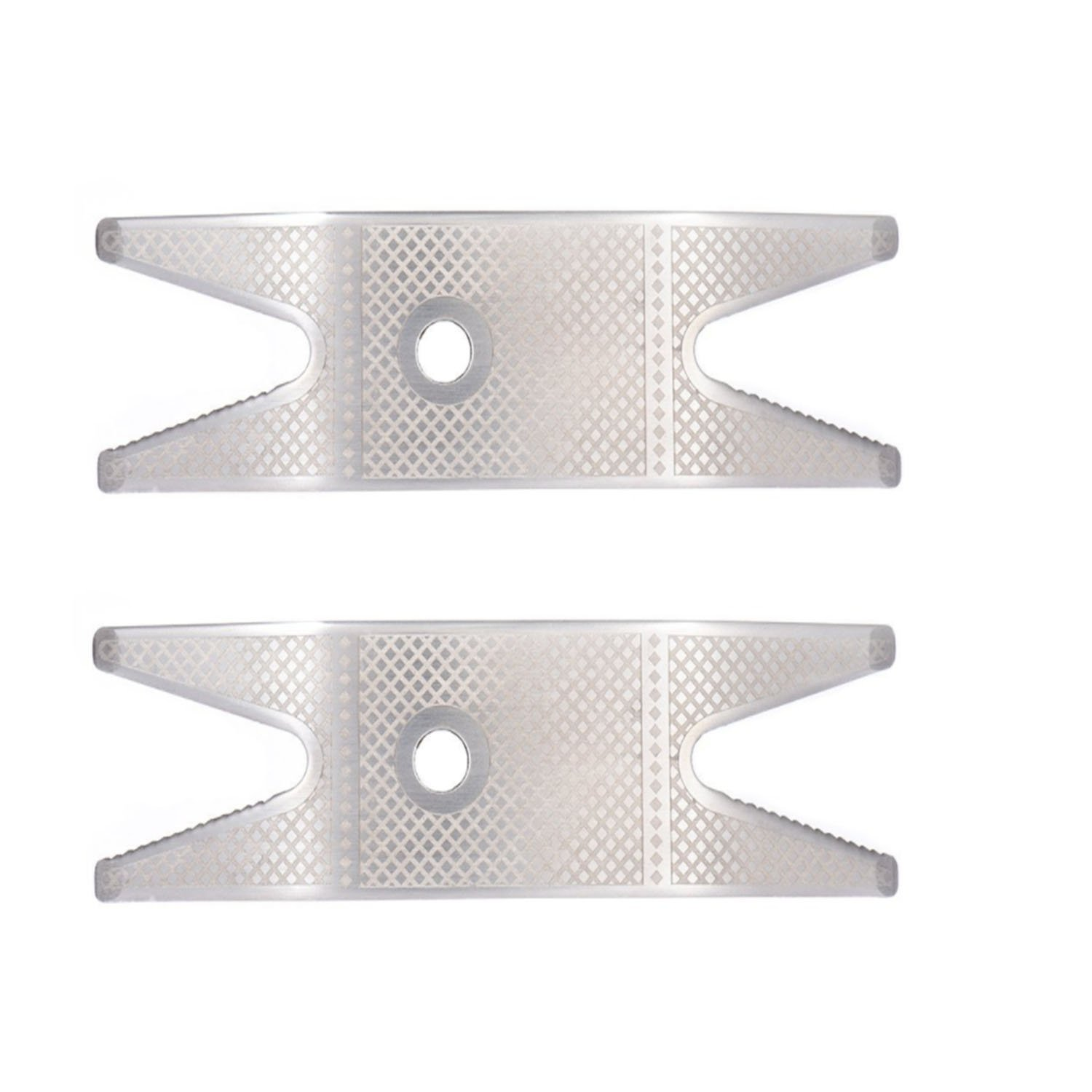Guitar Spanner Wrench Tool Stainless Steel Multi Spanner Wrench for Guitar Switch Knob Tuner Bushing Pack of 2