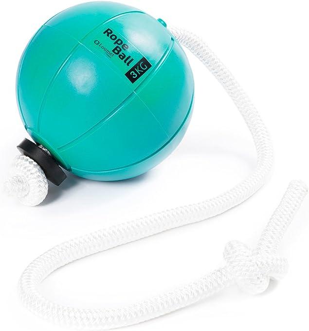 loumet Balón Medicinal Rope Ball 25 cm, 3: Amazon.es: Deportes y ...