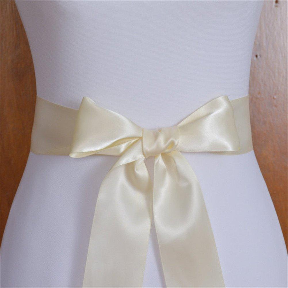 per abiti da sposa color avorio ivory ribbon fascia decorativa con diamanti sintetici TRLYC