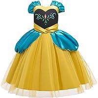 OwlFay Niñas Disfraz de Carnaval Princesa Reino del