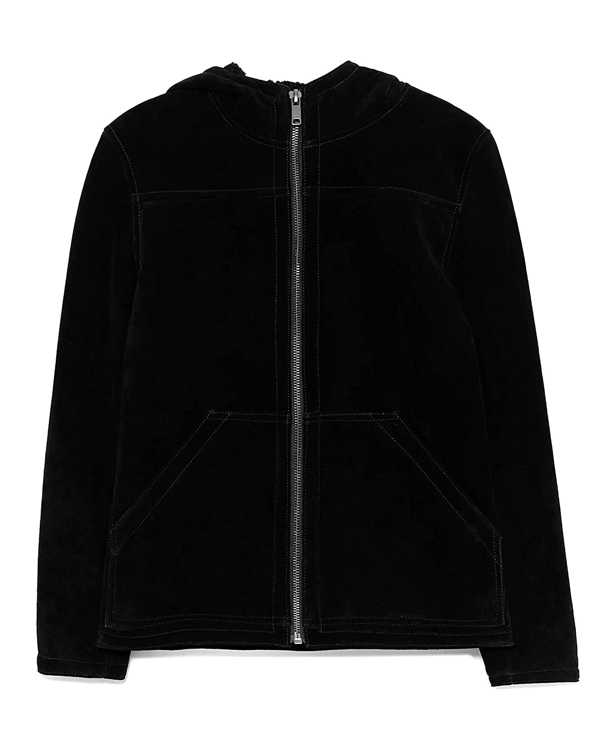 factory outlets best place hot product Zara Homme Double-Sided Lambskin Jacket 8281/471