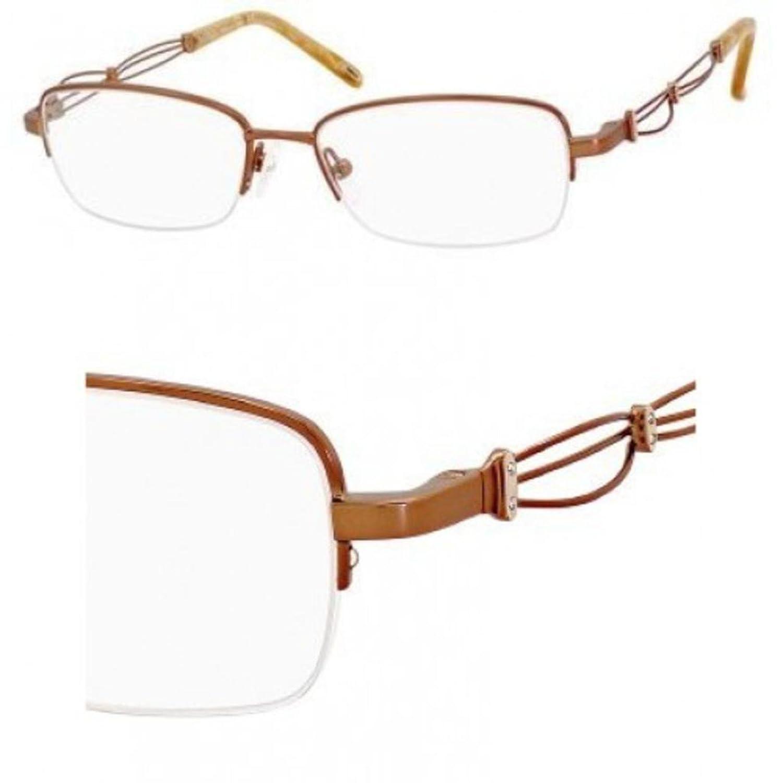 Eyeglasses Safilo Emozioni 4351 0FE3 Almond
