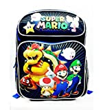 Super Mario Brothers and Friends Medium (Toddler) Sized Canvas Backpack