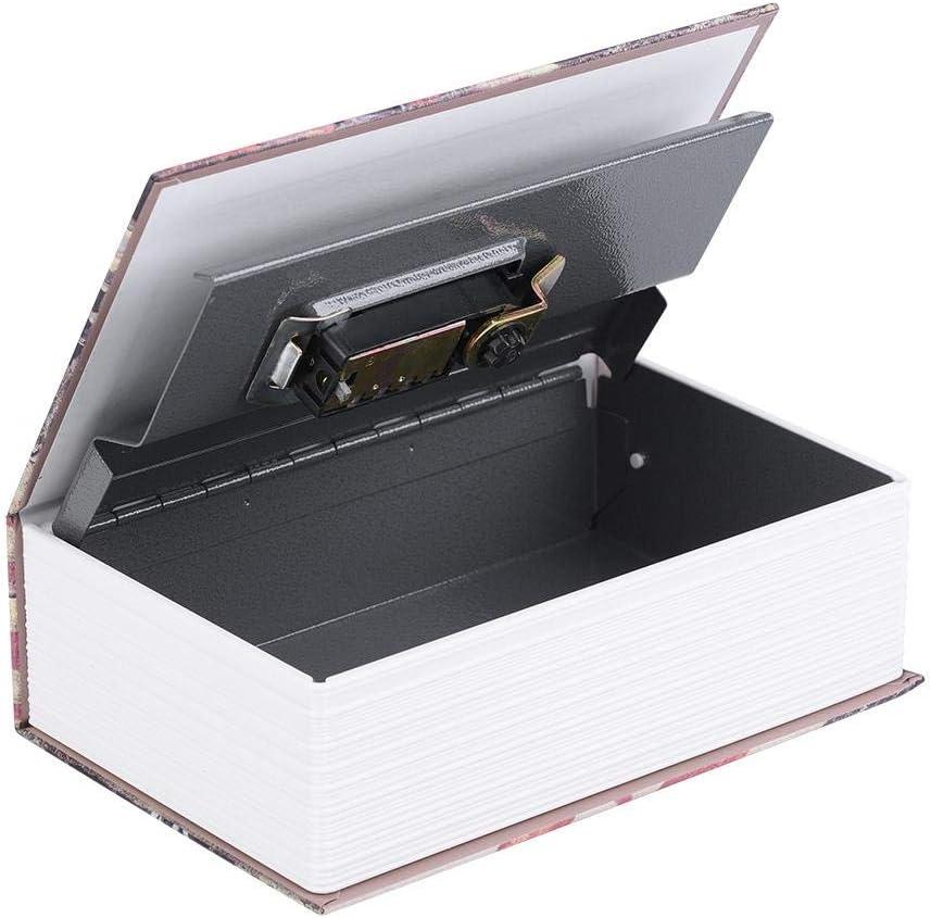 Jacksking Mini Caja de Seguridad Libro Creativo Colecci/ón de Joyas Colecci/ón de Almacenamiento Caja de Libro de desviaci/ón Caja de Almacenamiento de Seguridad Caja Secreta Segura Secreta Amor