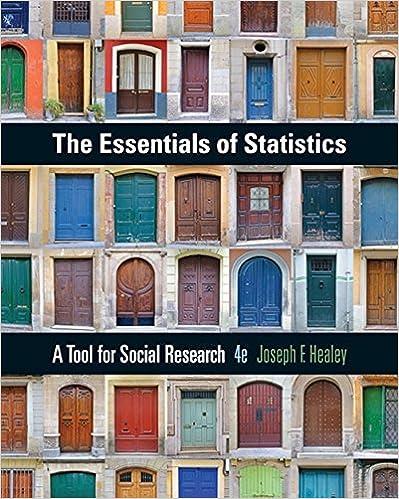 The Essentials Of Statistics A Tool For Social