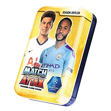 Mega Tin 2020 Card List.Amazon Com Champions League 2019 20 Topps Match Attax Cards