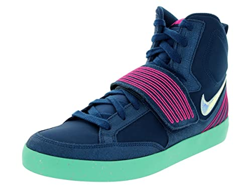 0d74138545d9c NIKE NSW SKYSTEPPER Fashion Sneakers Brave Blue Pink Flash Green Glow  599277 400