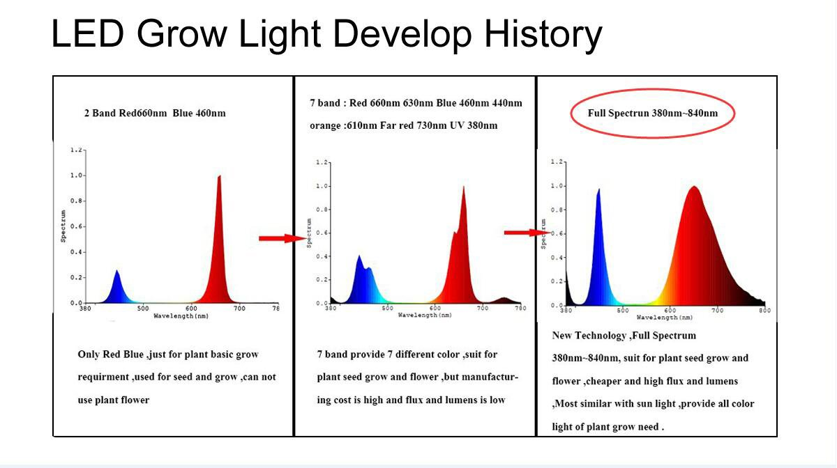 Chanzon 10 Pcs High Power Led Chip 1w Full Spectrum Circuit Series 3 X 3w 5w In Plant Grow Light 380nm 840nm 300ma 350ma Dc 3v 32v 1 Watt Smd Cob Emitter Diode