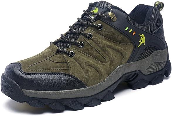 Zapatos de Trekking Montaña Escalada Calzado Deportivo Hombre ...