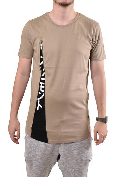 Camiseta Manga Fremontamp; Corta Harris Hombre Cremallera Estampada SzLpqGUMV
