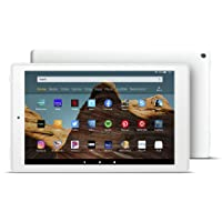 "Certified Refurbished Fire HD 10 Tablet (10.1"" 1080p full HD display, 32 GB) – White"