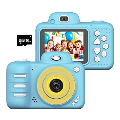 Wonvin Kids Toys Camera for 4-10 Year Old Girls Boys,2.4 Inch Screen 8MP HD Video Cameras, Best Gift for 4-10 Year Old Boy Girl Creative Gifts,(16GB Micro SD Card Included): Toys & Games