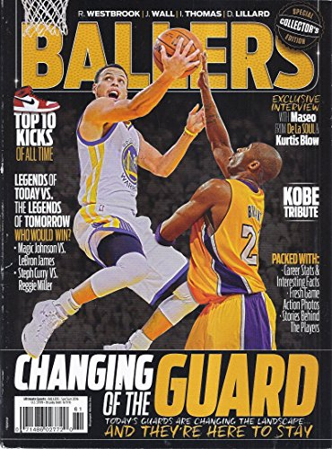 Ballers Magazine (Spring/Summer 2016 - Cover: Kobe Bryant/Stephen Curry - Special Collector