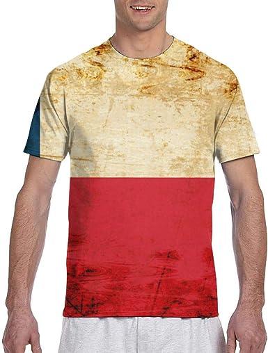 Kissen Case The Flag of Texas Ropa Deportiva para Hombre Camisetas de Manga Corta Camisa clásica: Amazon.es: Ropa y accesorios