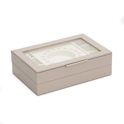 Amazoncom WOLF 392121 Sophia Stackable Trays Jewelry Box Mink