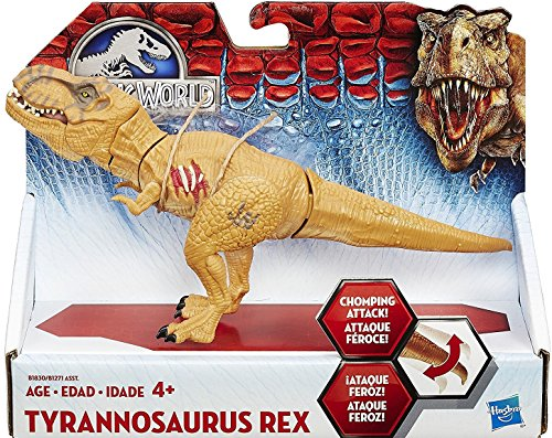 Jurassic World Bashers and Biters Tyrannosaurus Rex Animal Figure