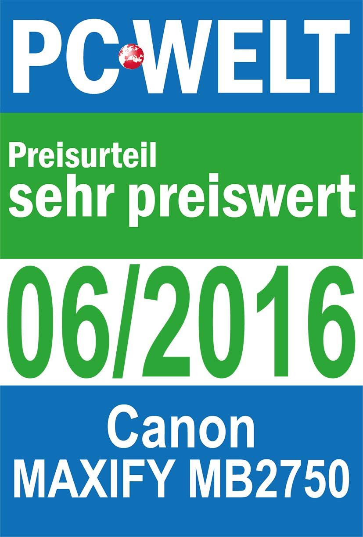 Canon MAXIFY MB2750 600 x 1200DPI Inyección de Tinta A4 WiFi ...