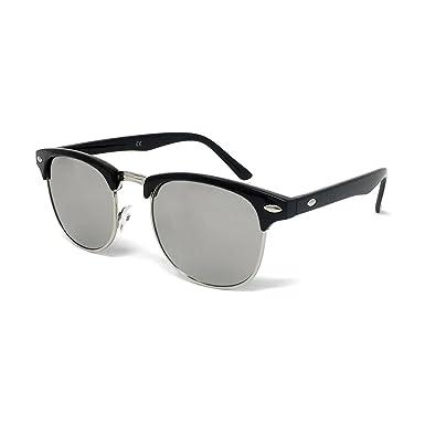 c41f624f15c 1950s Style Sunglasses - Vintage Retro Unisex Shades 100% UV400 Protective   Black Frame