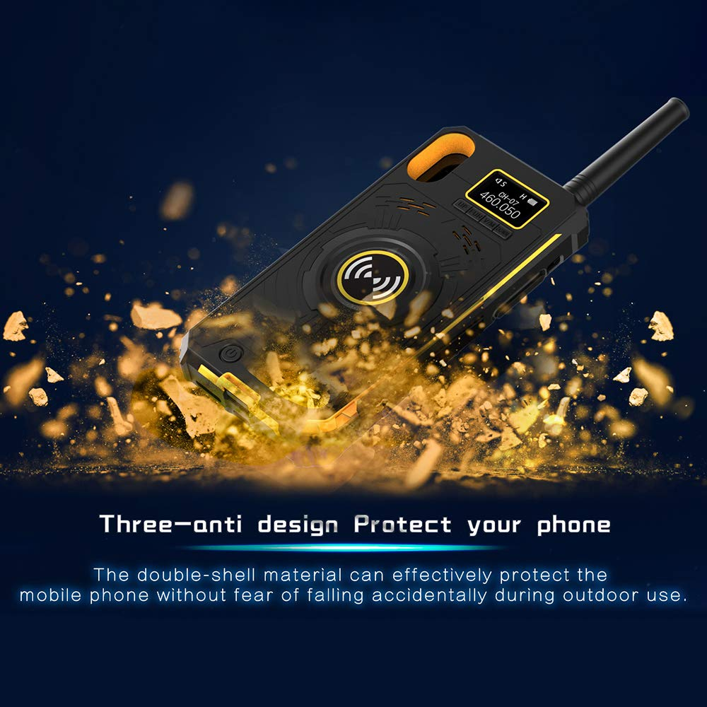 Docooler BOXCHIP Outdoor Walkie Talkie 3-in-1 Multi-Function Intercom Power Bank Phone Case for iPhone X by Docooler (Image #7)