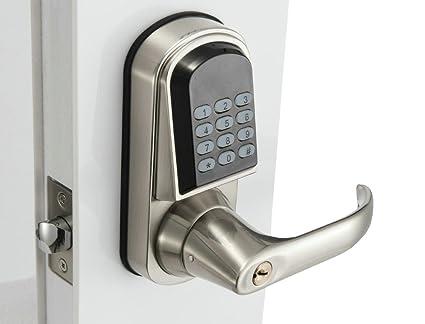 Rano Electronic Door Lock  W/ Code, Mifare Keyfob, Android