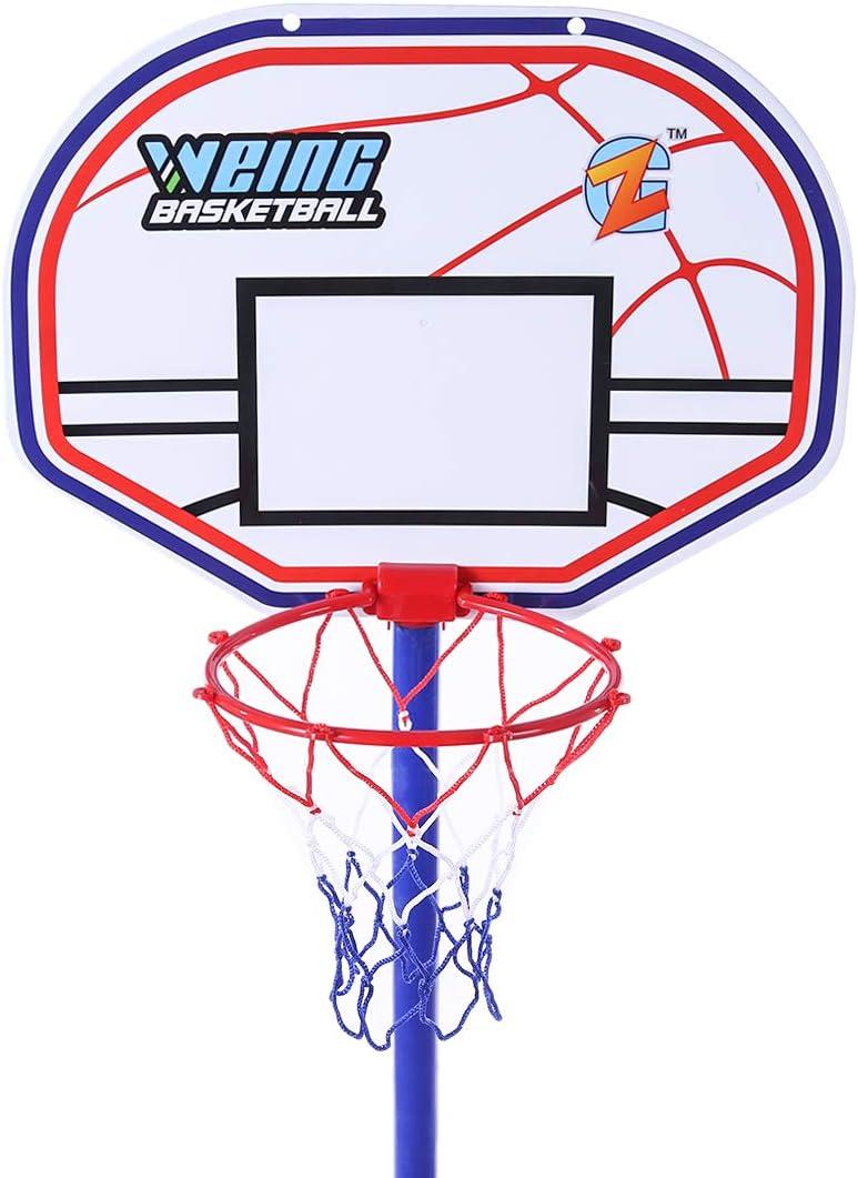 ColiCor Aro de Baloncesto para ni/ños Canasta Aro de Baloncesto Ajustable con Baloncesto y inflador