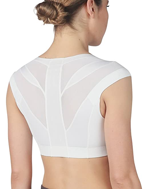 3f372b3193 IntelliSkin Womens Essential Bra - Posture Correcting Sports Bra + Smart  Compression  Amazon.ca  Clothing   Accessories