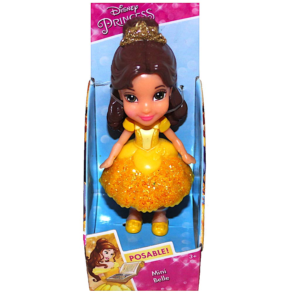 Mini Toddler Doll Mini Belle Disney Princess 3