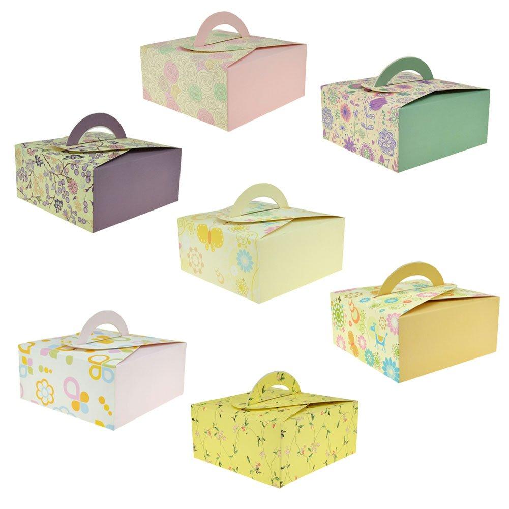 Amazon.com: Rantanto Gift Boxes With Easy Take Handle, Set Of 14 ...