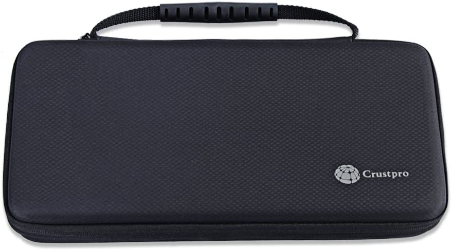 CrustPro Carry Pouch Protective Box Bag Cover Case for Bowers /& Wilkins T7 Creative Sound Blaster Roar 2 Black Creative Sound Blaster Roar Portable Bluetooth Speaker Extra Space for Plug /& Cables