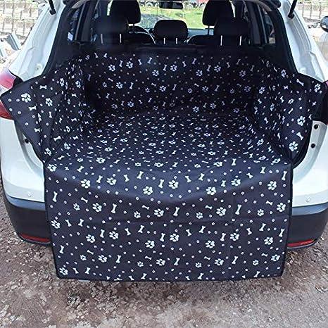 VUS-Blue Bone Couverture de Voyage Voyage Tronc pour Voitures Folconauto Pet Car Seat Boot Couverture-Boot Boot imperm/éable Protector Mat Chiens Cover