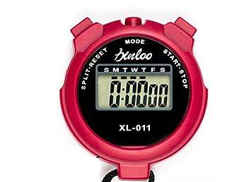 Sportuhr Intervall : Cuzit digitale lcd stoppuhr chronograph sportuhr alarm für