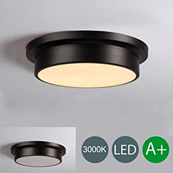Runde LED Deckenleuchte Schlafzimmer Wohnzimmer Lampe Küche ...