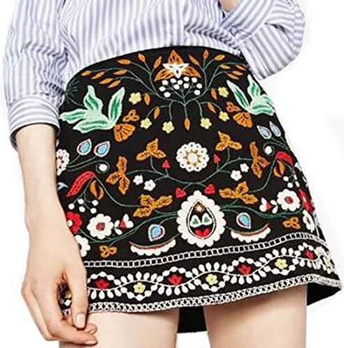 Womens Embroidered Skirt Set - 8