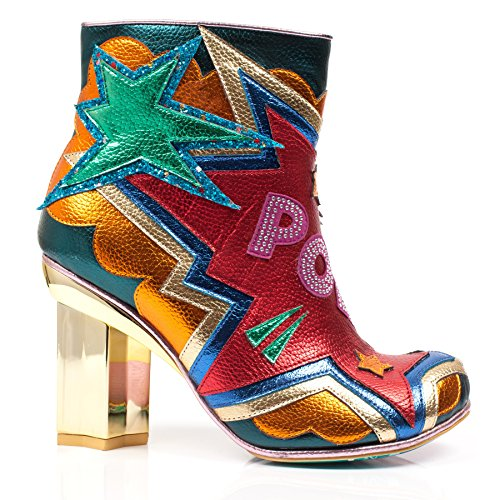 Red Ankle Women's Pow Choice Irregular Red Boot A Bag OqSYwP1