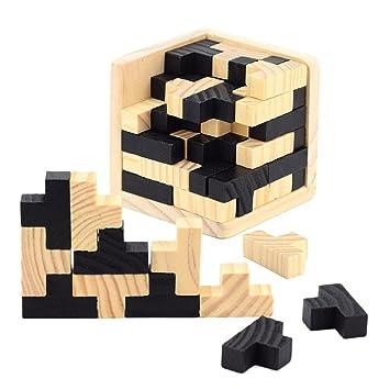 Setzpuzzle Drei Magier Holz Puzzle Einlegepuzzle