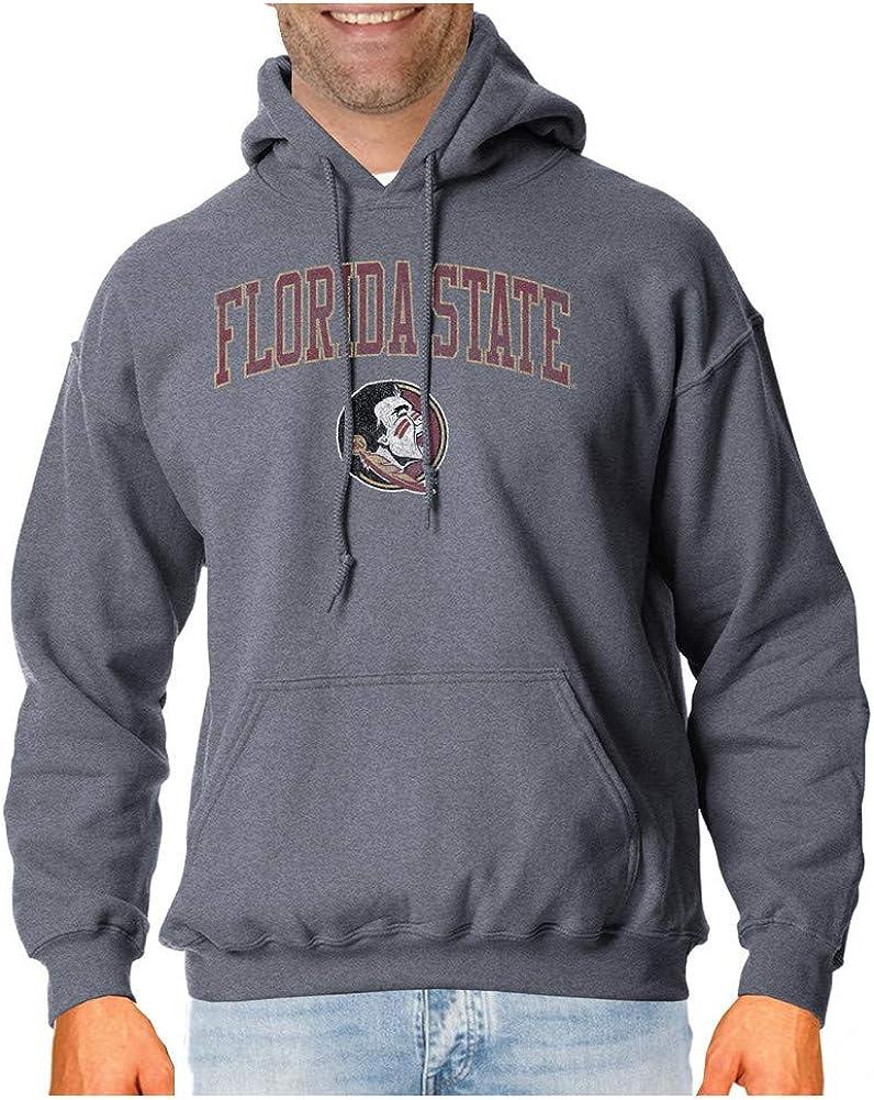 Elite Fan Shop NCAA Mens Hoodie Charcoal Victory