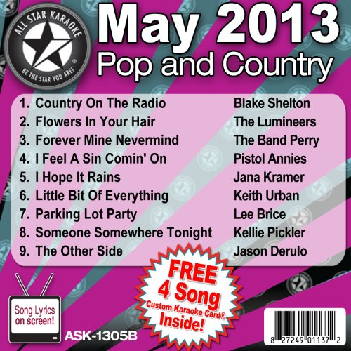All Star Karaoke Pop and Country Series (ASK-1305B)