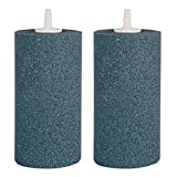 VIVOSUN Air Stone 2PCS 4 X 2 Inch Large Air Stone Cylinder for Aquarium and Hydroponics Air Pump (2PCS 4 x 2 Inch)