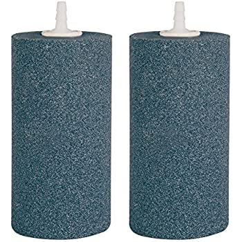 VIVOSUN Air Stone 2PCS 4 X 2 Inch Large Air Stone Cylinder for Aquarium and Hydroponics Air Pump