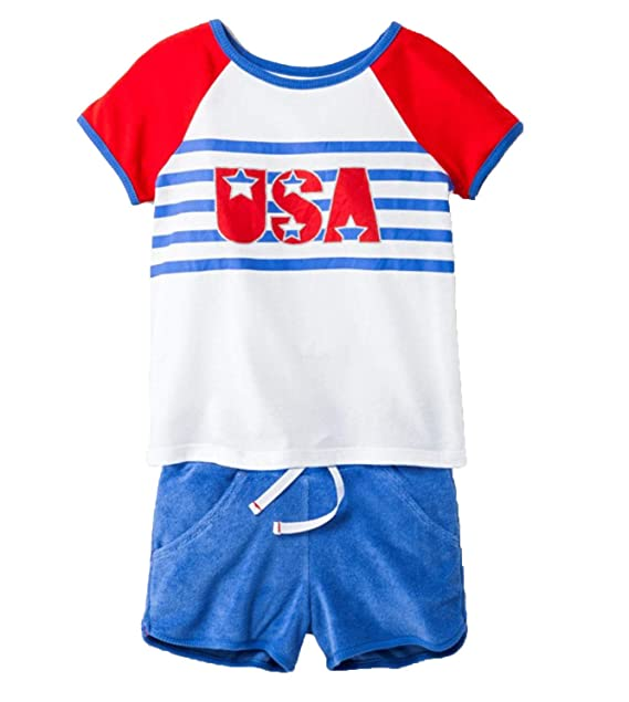BOYS CAT /& JACK OUTFIT 2 PC SUMMER SET SHIRT AND SHORTS SIZE 18M USA