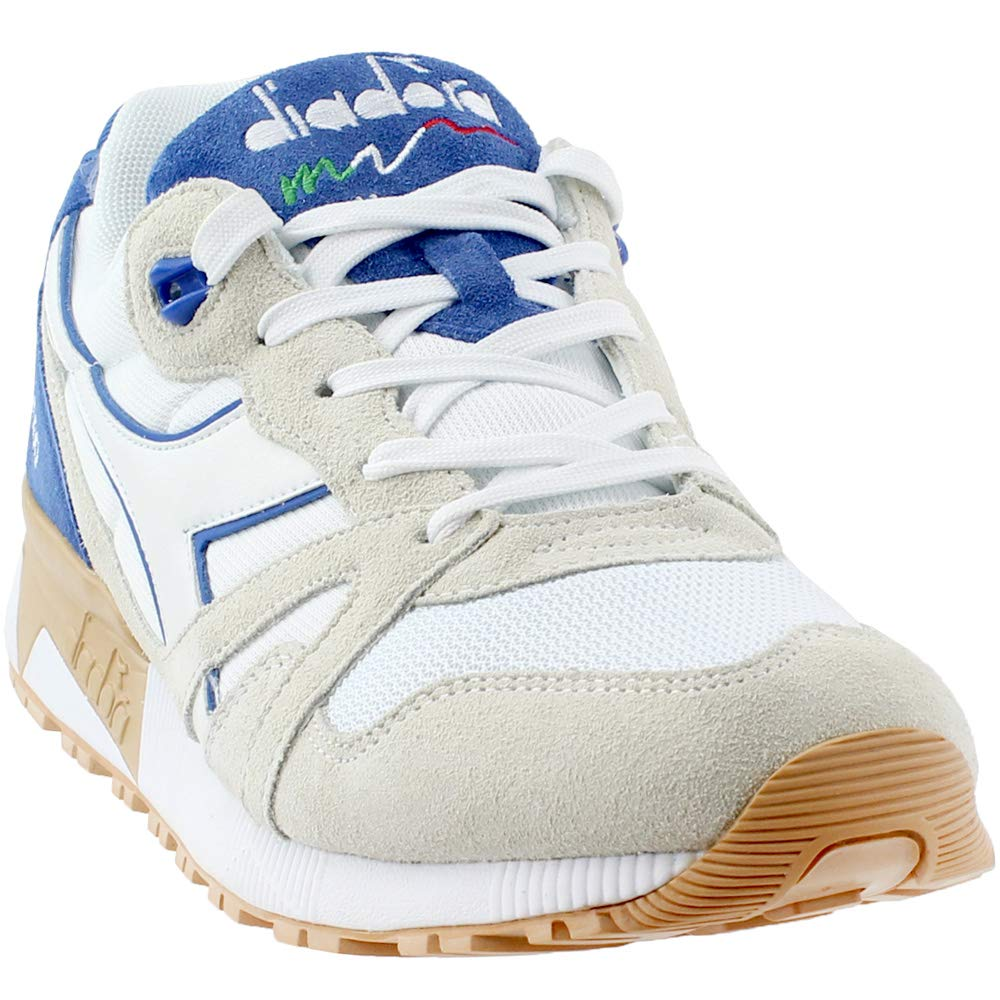 Diadora Unisex N9000 III White/Princess Blue 12 Women / 10.5 Men M US