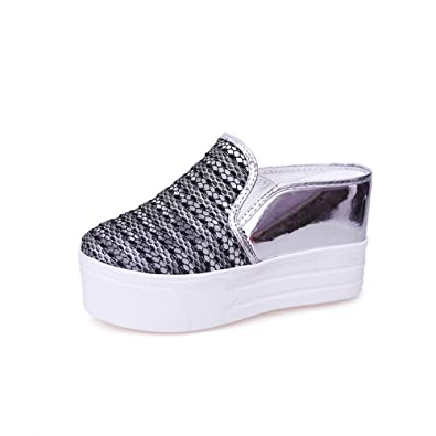 49047715877be Amazon.com | excellent.c 2018 semi-Towed Casual Shoes Women ...