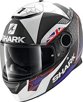 Shark - Cascos de Moto Spartan 1.2 Redding Mat KBW: Amazon.es: Coche y moto