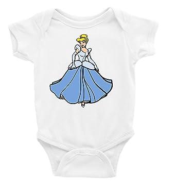 4c04a78e6 Amazon.com: Cinderella Short Sleeve Unisex Onesie: Clothing